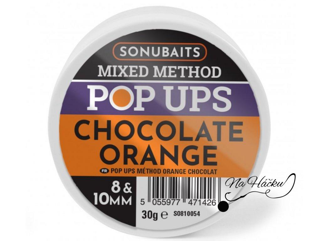MIXED METHOD POP UPS Chocolate Orange