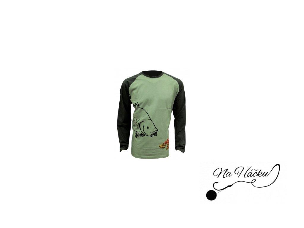 Zfish Tričko Boilie T-Shirt Long Sleeve
