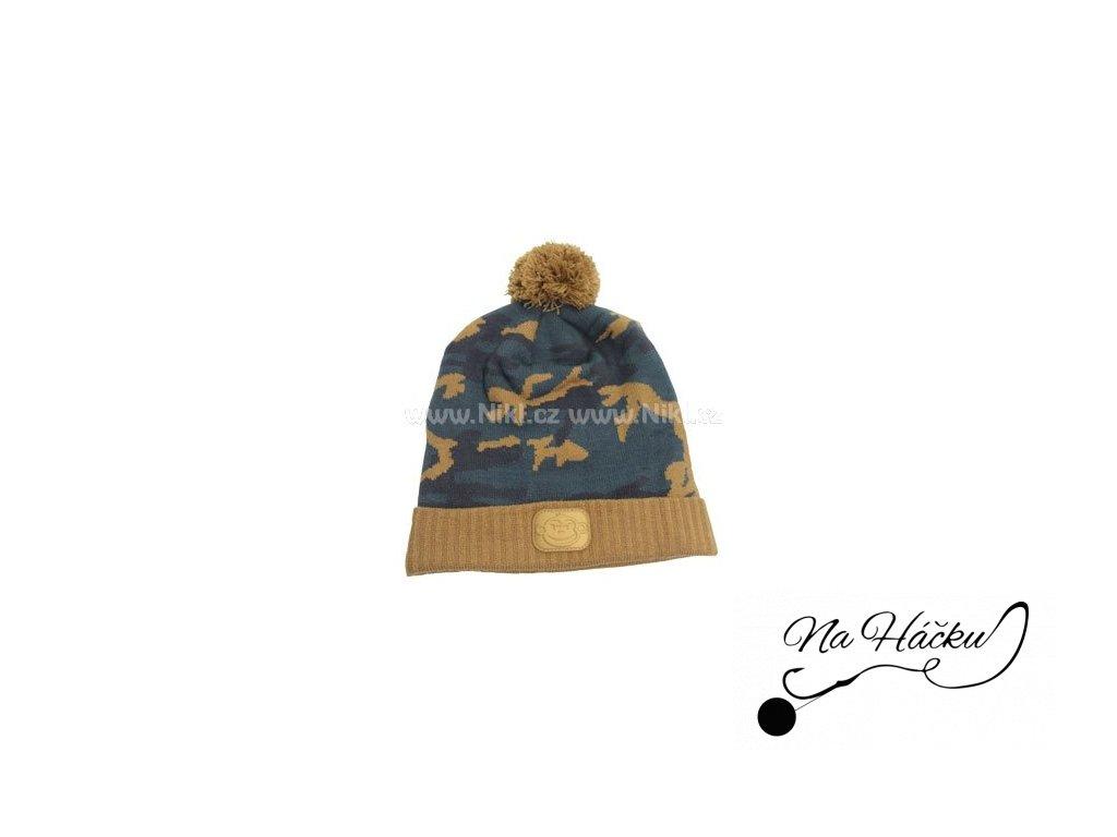 RIDGEMONKEY KULICH CAMO BOBBLE HAT