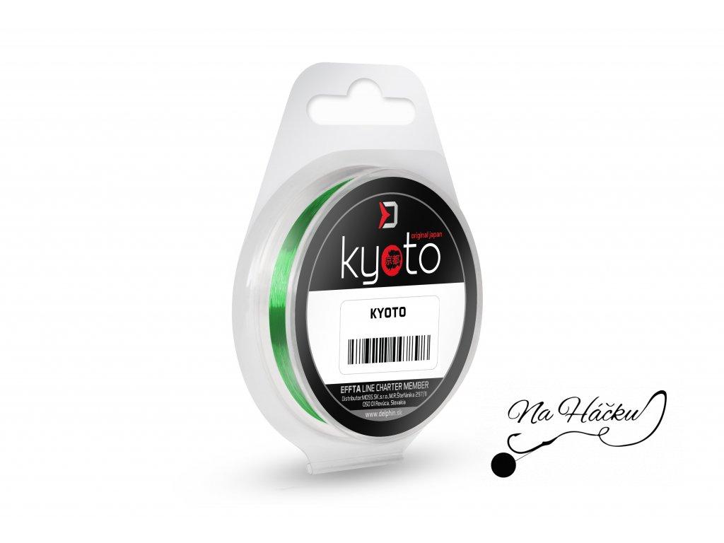 Monofil Delphin KYOTO / fluo zelený