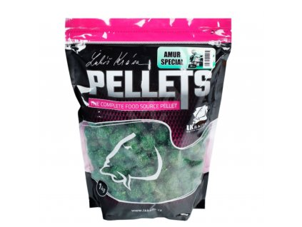 LK Baits amurové pelety - Amur Special Pellets - 1kg