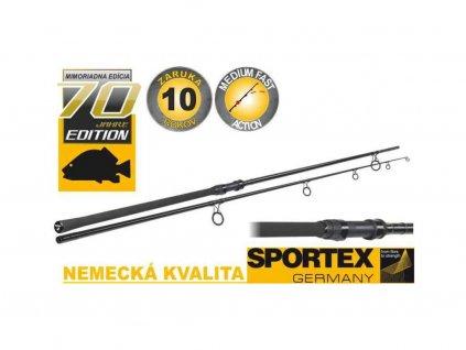 81044 kaprove pruty sportex advancer carp 2 dil 366cm 2 75lbs