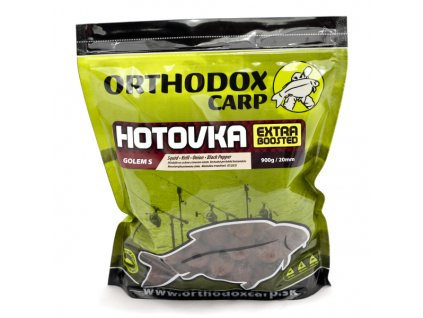 Orthodox boilies Hotovka - 900g  GOLEM S