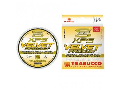 TRABUCCO VLASEC S-FORCE XPS VELVET PRO CAST 600M