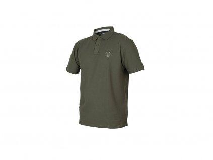 74088 7 fox collection polo shirt black orange main
