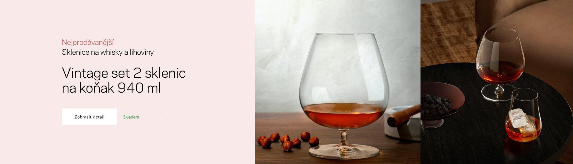 Ručně vyráběné designové křišťálové sklo