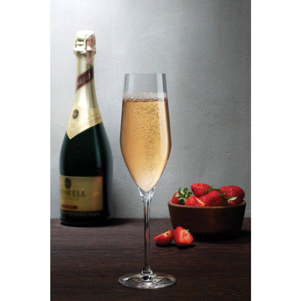 Vinifera Set of 2 Champagne Glasses 3