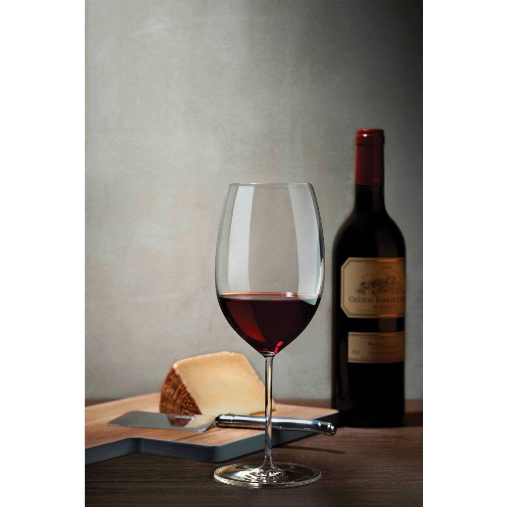 Vintage Set of 2 Bordeaux Glasses 3