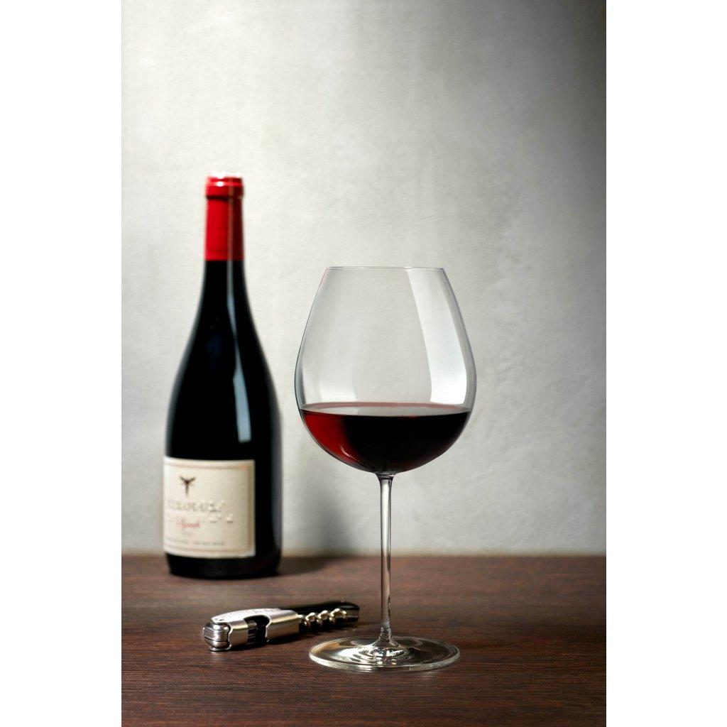 Vintage Set of 2 Bourgogne Glasses 3