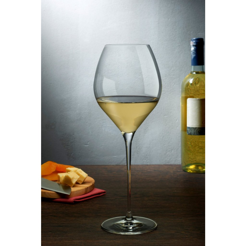 Fantasy Set of 2 White Wine Glasses Tall 2