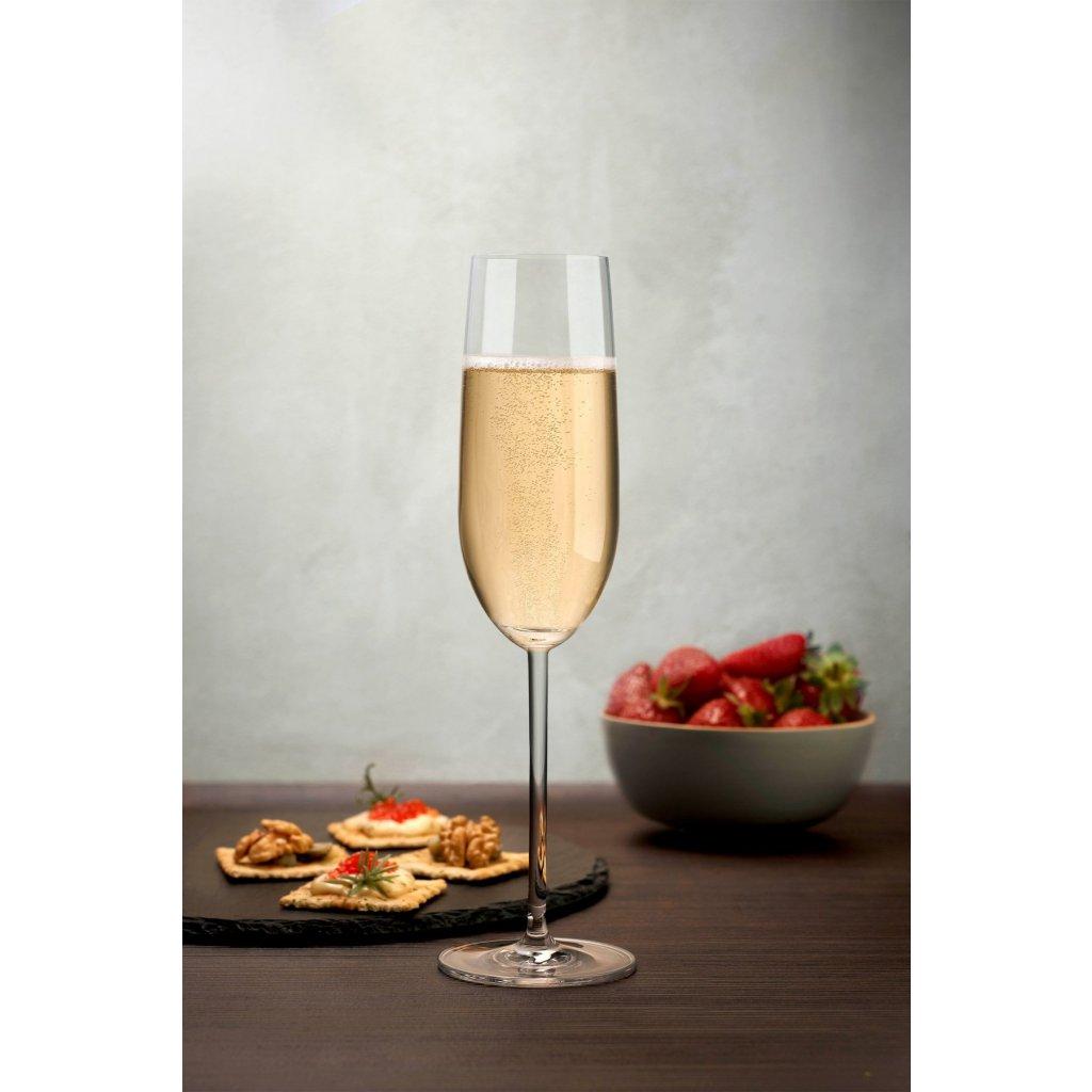 Vintage Set of 2 Champagne Glasses 3