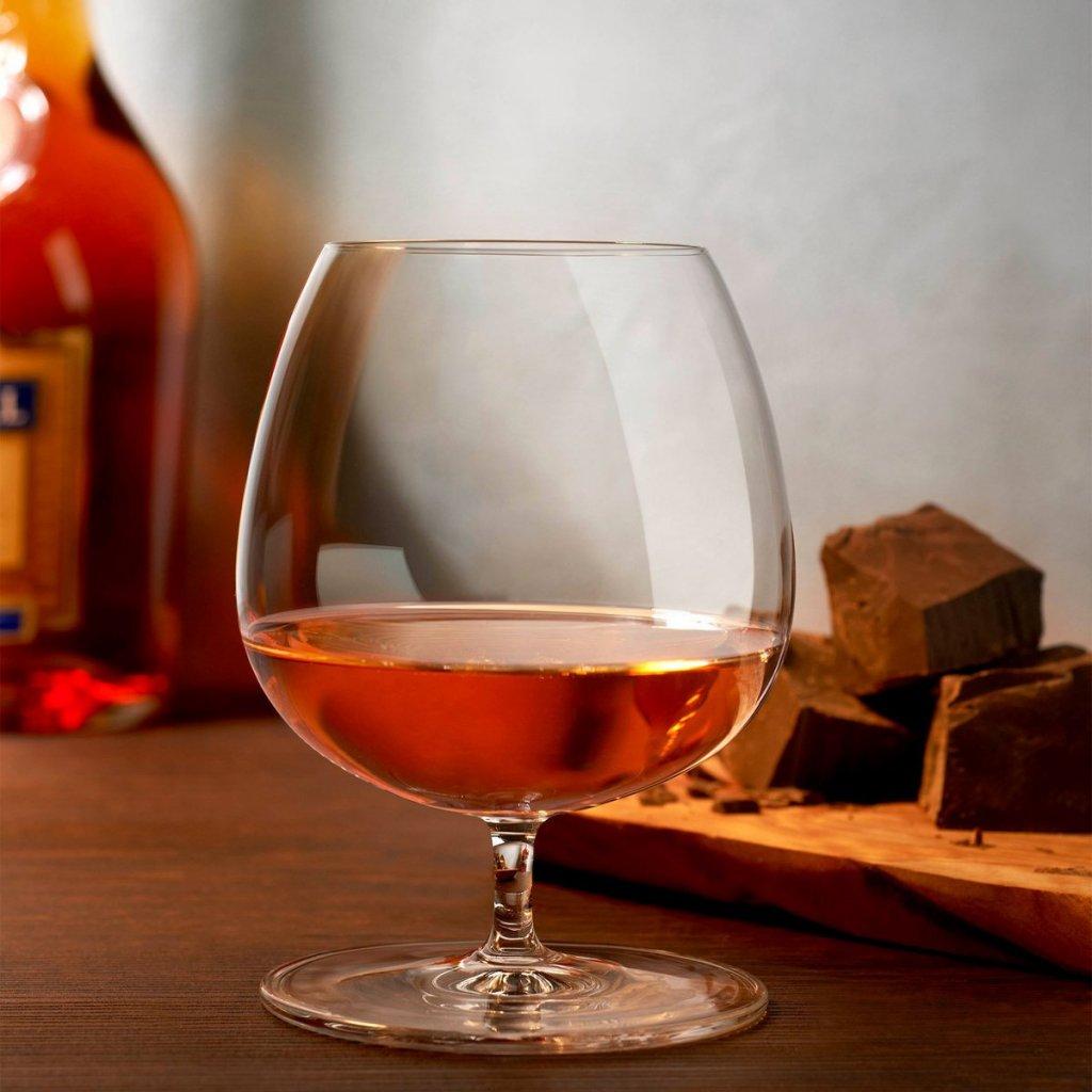 Vintage Set of 2 Cognac Glasses 500 cc 3