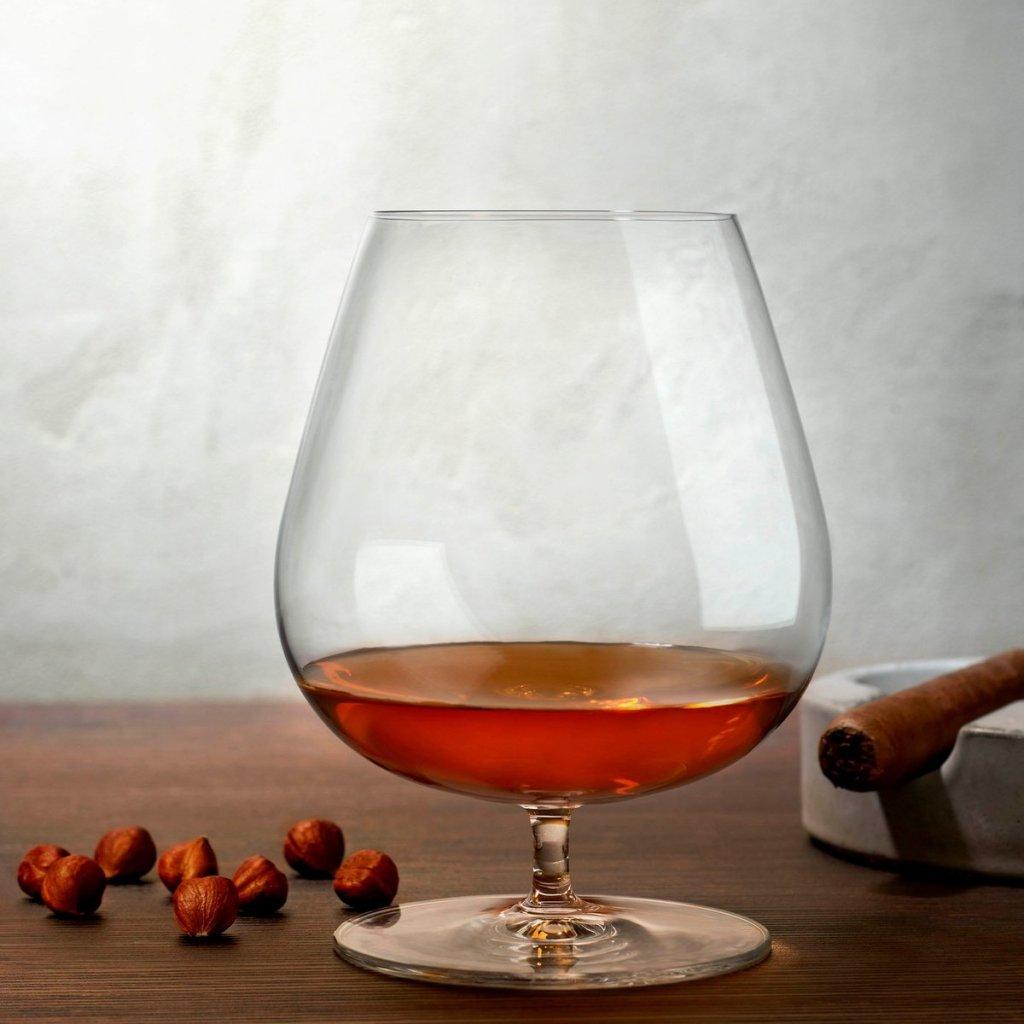 Vintage Set of 2 Cognac Glasses 900 cc 3