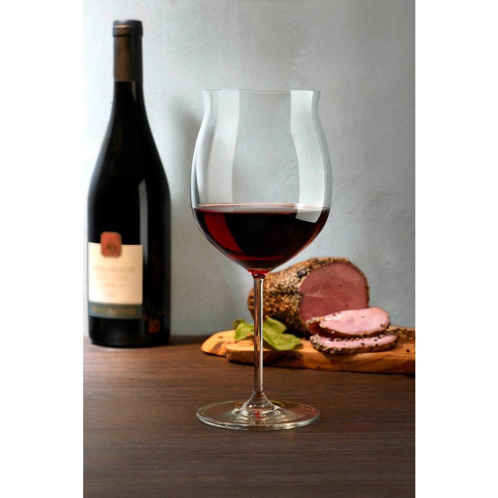 Vintage Set of 2 Grand Bourgogne Glasses 3
