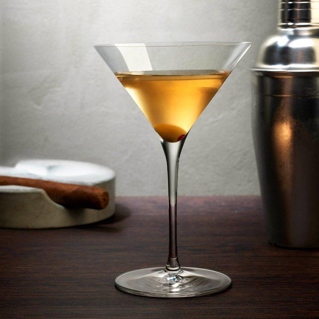 Vintage Set of 2 Martini Glasses 4