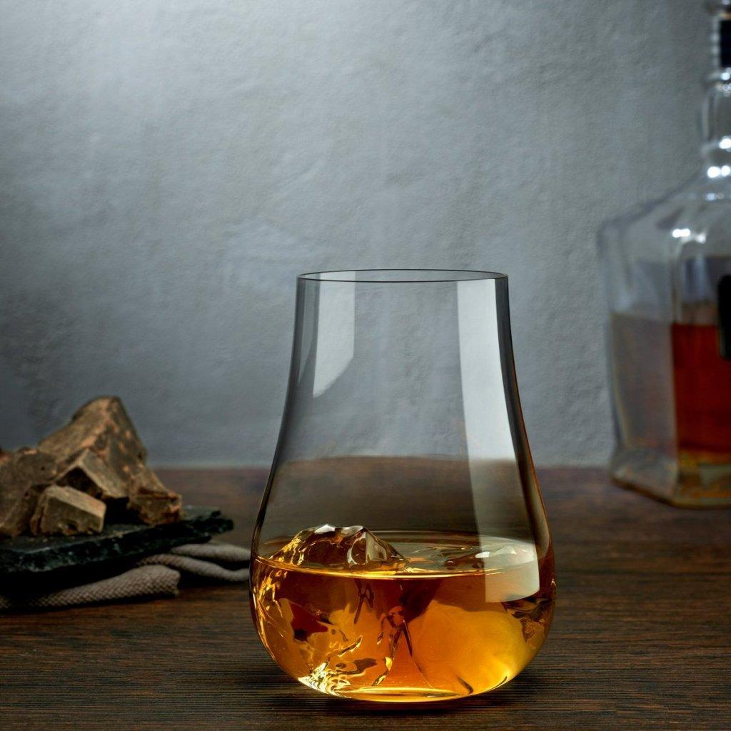 Vintage Set of 4 Whisky Glasses 2