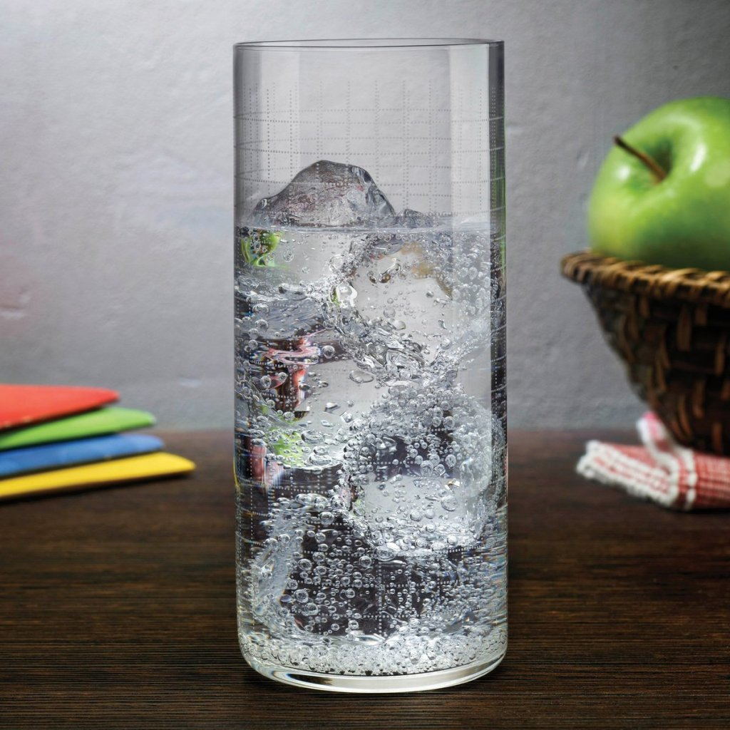 Finesse Grid Set of 4 High Ball Glasses 2