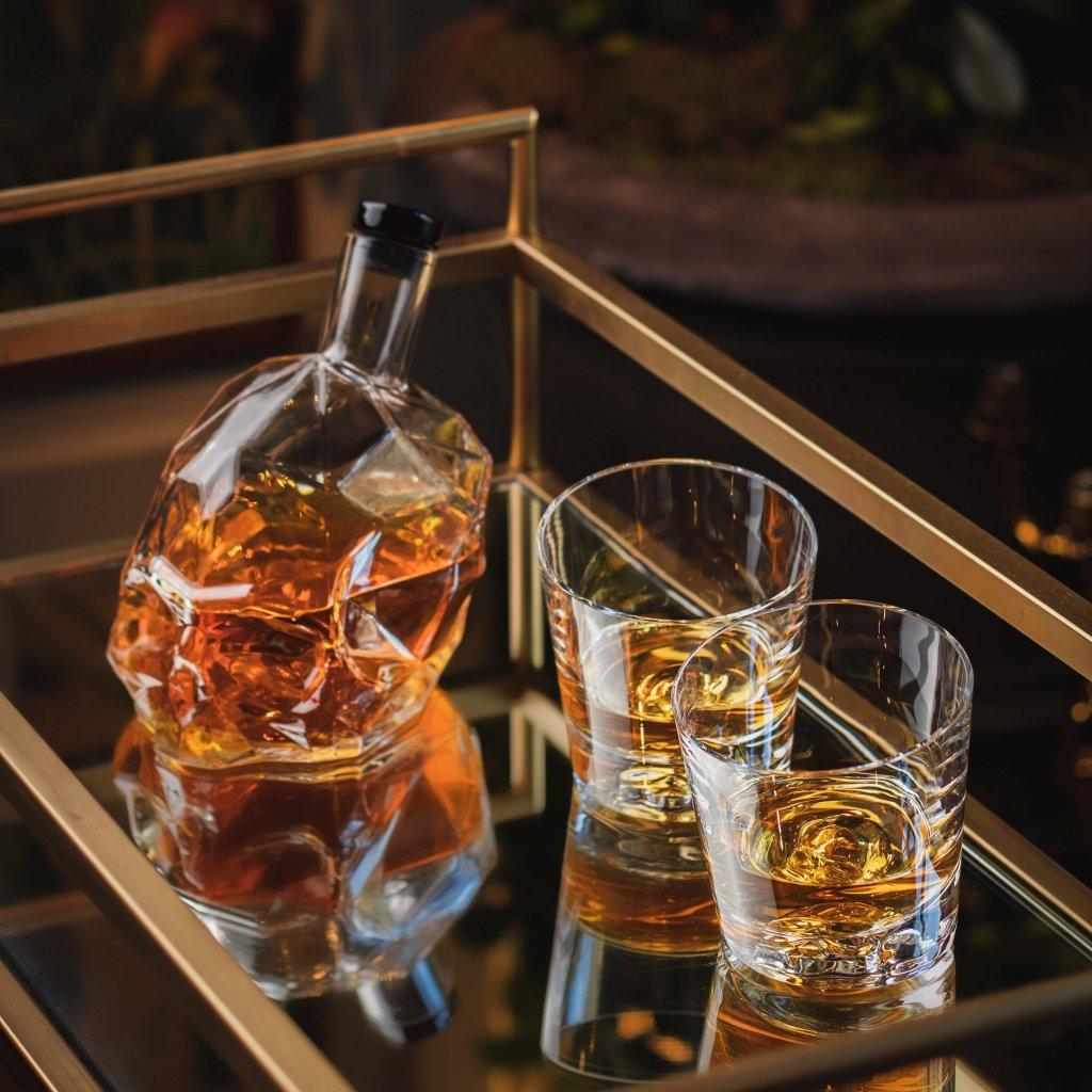 MEMENTO MORI set 2 sklenic na whisky