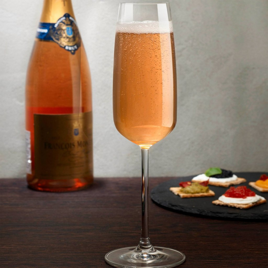 Mirage Set of 2 Champagne Glasses 3