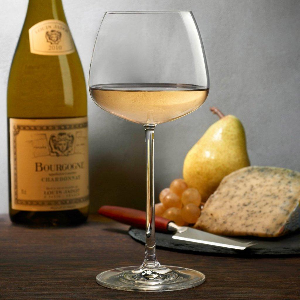 Mirage Set of 2 White Wine Glasses 3