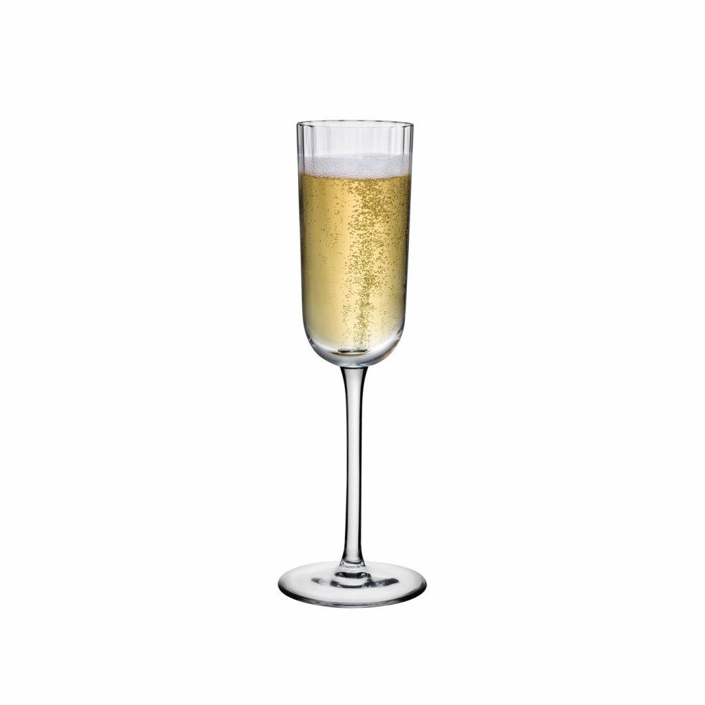 Neo Set of 2 Champagne Glasses