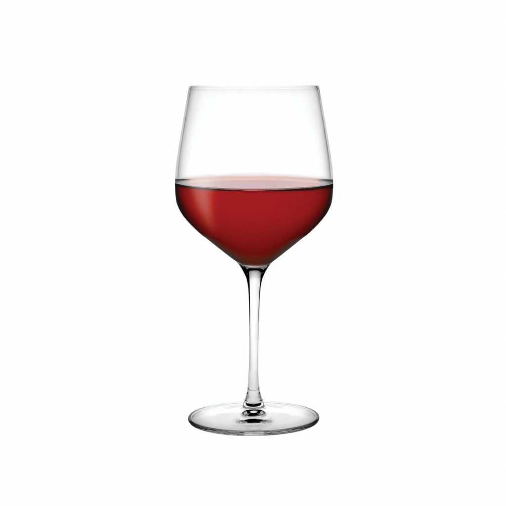 Refine Set of 2 Burgundy Glasses