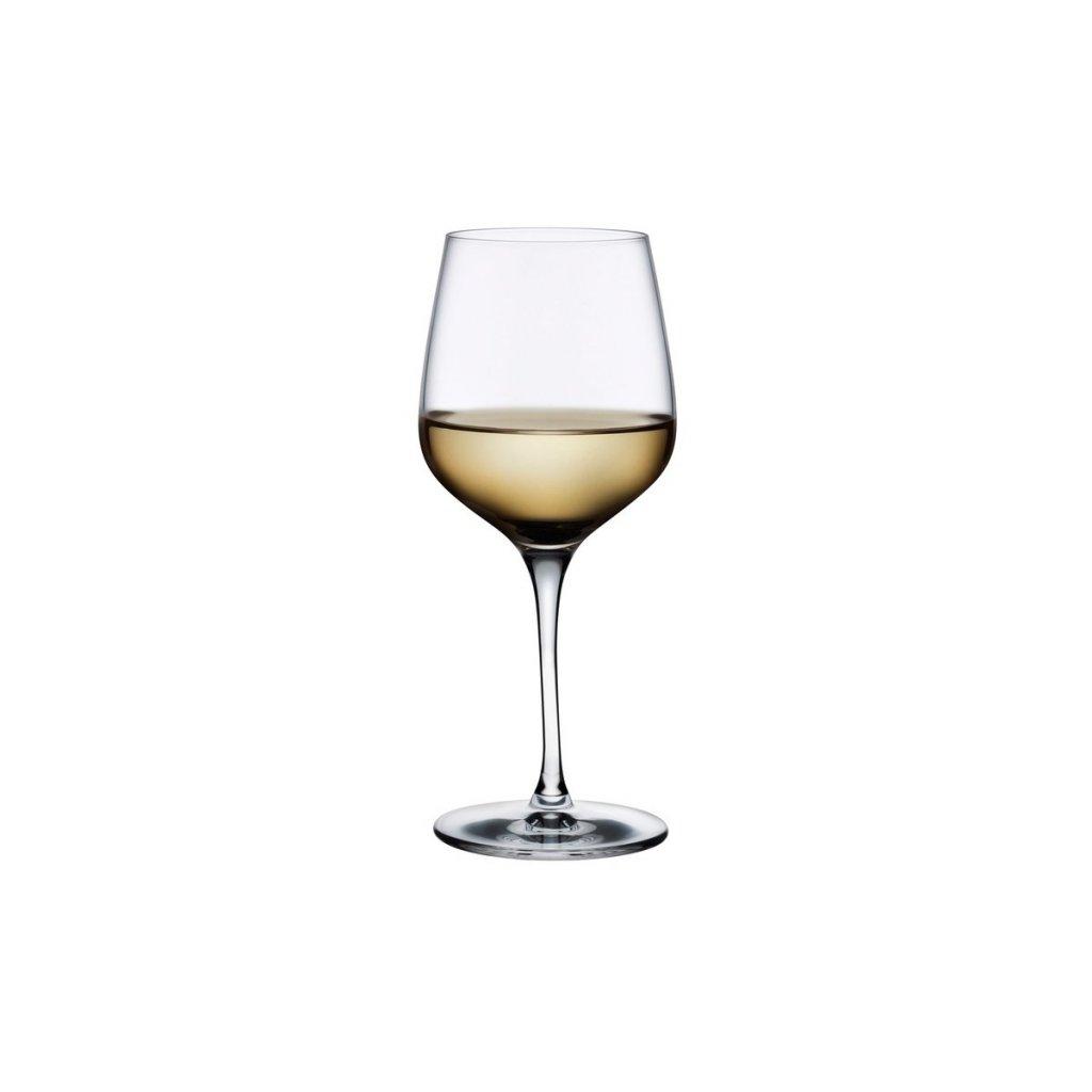 Refine Set of 2 White Wine Glasses 2