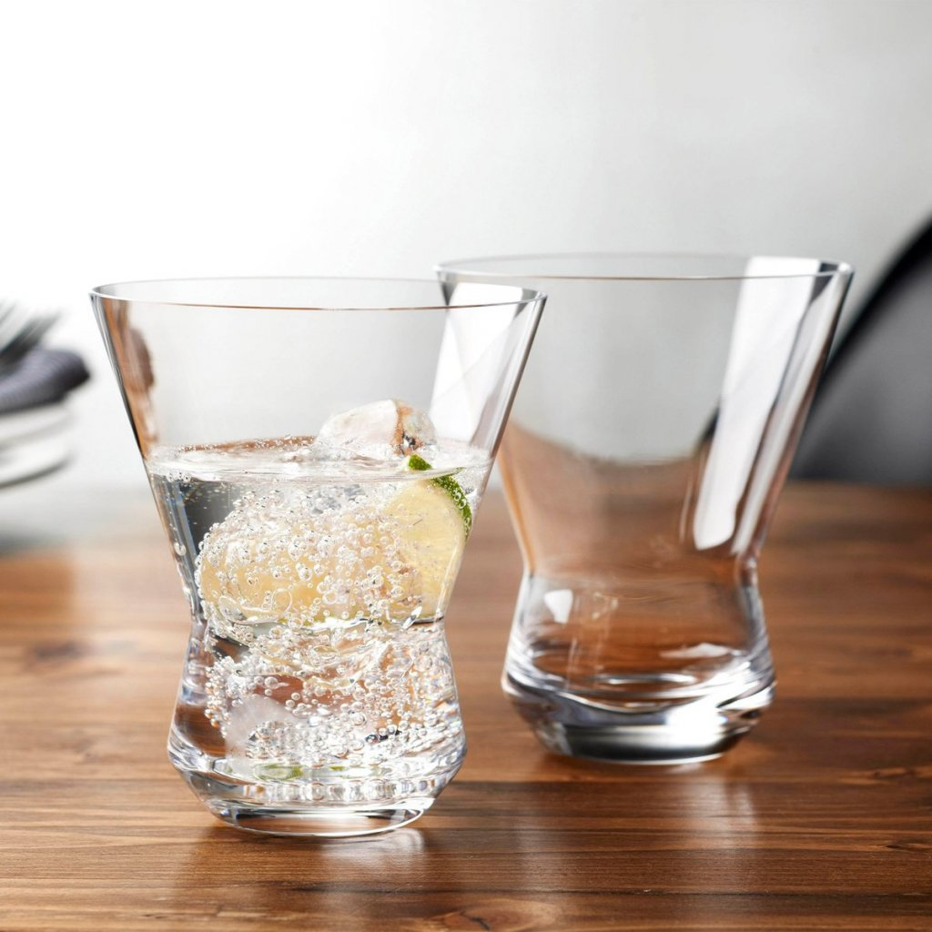 Rhythm Set of 2 Water Glasses Clear 3