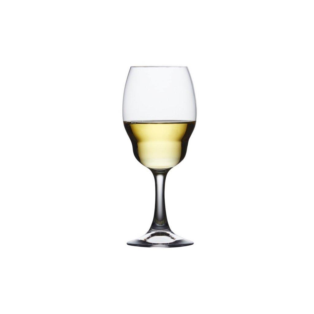 Heads Up Set of 2 White Wine Glasses 2