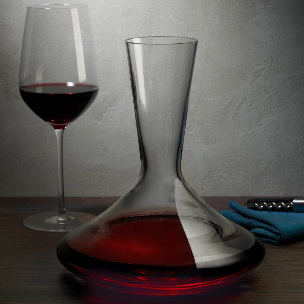 Dimple Decanter and Glass