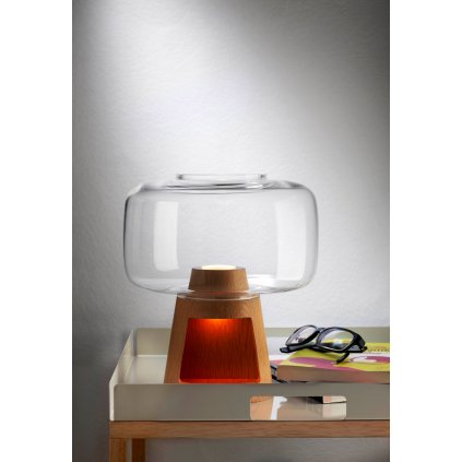 b TREE Table lamp Nude Glass 360953 relf95777e0