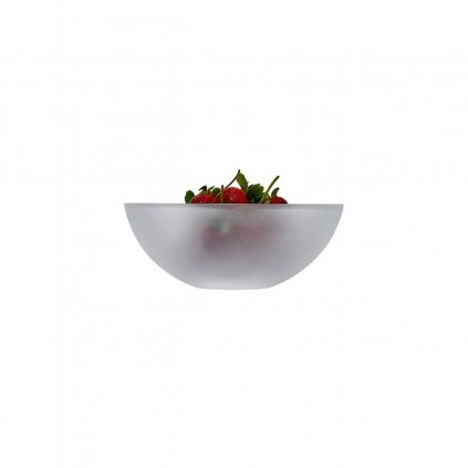 Essence Bowl Clear Sandblasted 2