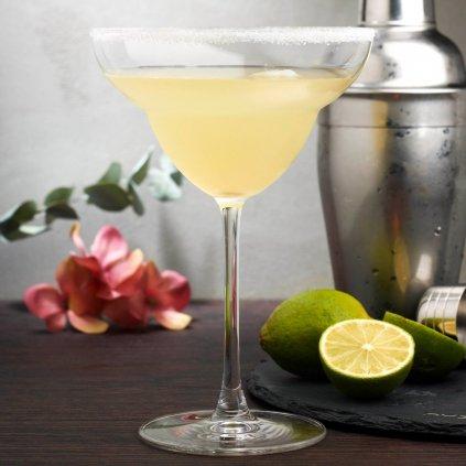 Vintage Set of 2 Margarita Glasses 3
