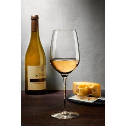 Whisper Set of 2 White Wine Glasses 3