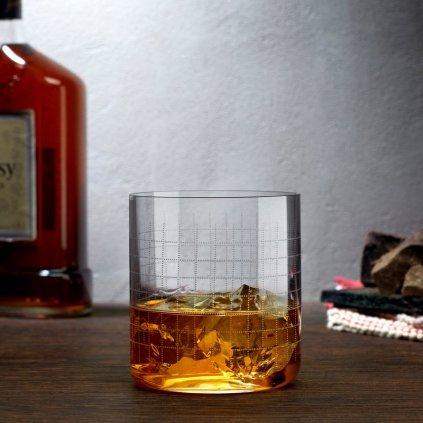Finesse Grid Set of 4 Whisky SOF Glasses 2