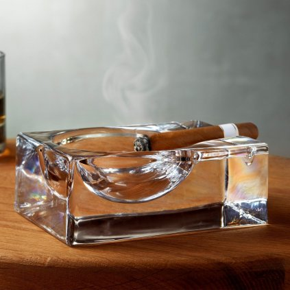 Fumo Cigar Ashtray Clear 3