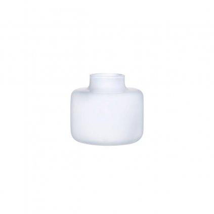 vase Wide Opal White