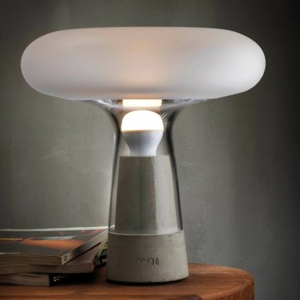 Orion Lamp with Glass Top 3