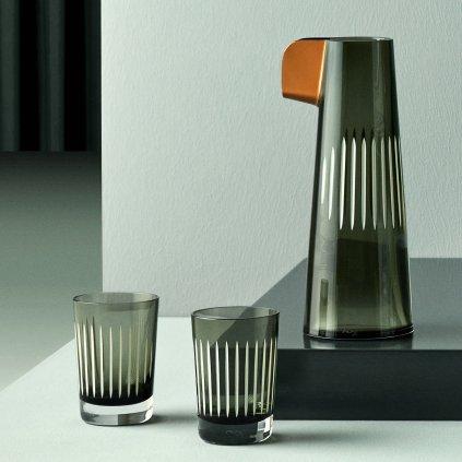 PARROT KARAFA + sklenice kouřová+bílá 1800x1800