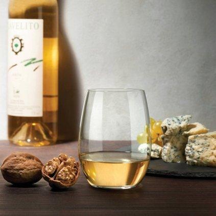 Pure Set of 4 White Wine Glasses 3