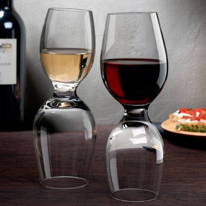 Red Or White Set of 2 Wine Glasses 4