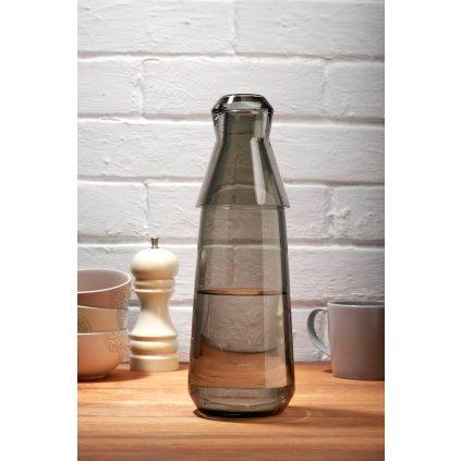 Rhythm Water Carafe with Glass Smoke 3