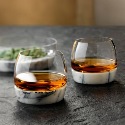 Chill Whisky Tumbler With Marble Base 3