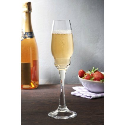 Heads Up Set of 2 Champagne Glasses 3