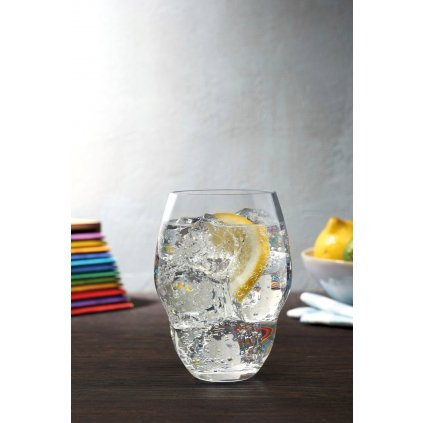 Heads Up Set of 2 Water Glasses 3