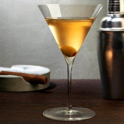 Dimple Set of 2 Martini Glasses 2