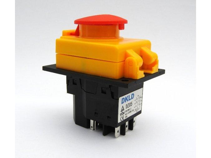 DKLD DZ05B 7P vypinac spinac AC400V 10A A
