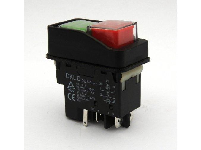 DKLD DZ 6 4 5P vypinac spinac AC250V 16A A