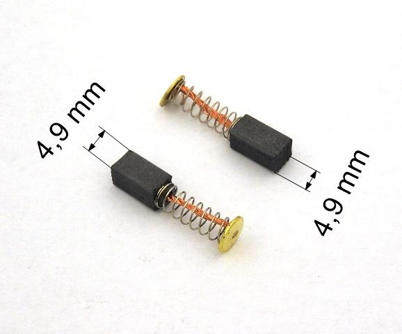 Uhlík 98 - 4,9 x 4,9 mm