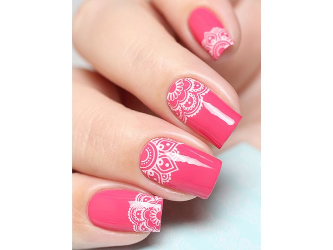 SLIDER NAIL ART 328 White